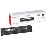 Image of Canon 716 Black Laser Toner Cartridge