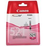 Image of Canon CLI-521 Magenta Inkjet Cartridge