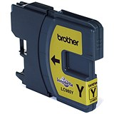 Image of Brother LC980Y Yellow Inkjet Cartridge