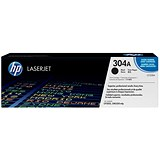 Image of HP 304A Black Laser Toner Cartridge