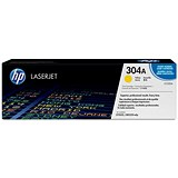 Image of HP 304A Yellow Laser Toner Cartridge