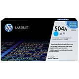 Image of HP 504A Cyan Laser Toner Cartridge