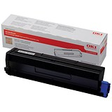 Image of Oki 43979202 Black High Capacity Laser Toner Cartridge