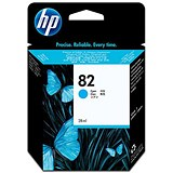 Image of HP 82 Cyan Ink Cartridge - Low Capacity