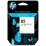 Image of HP 82 Yellow Ink Cartridge - Low Capacity