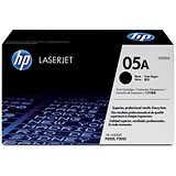 Image of HP 05A Black Laser Toner Cartridge