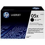 Image of HP 05X Black Laser Toner Cartridge