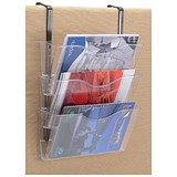 Image of Brochure Files Landscape / 3 Pockets / A4 / Clear / Pack of 3