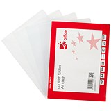 Image of 5 Star Cut Flush Folders / A4 / PVC / Copy-safe / Pack of 100