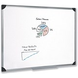 5 Star Magnetic Whiteboard / Aluminium Frame / W1200xH900mm