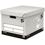 Image of 5 Star Storage Boxes / Self-Assembly / Standard / Pack of 10