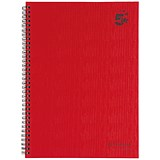 Image of 5 Star Wirebound Notebook / A4 / Ruled / 160 Pages / Pack of 5