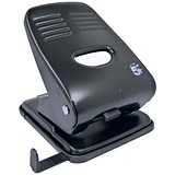5 Star 2-Hole Punch / Black / Punch capacity: 40 Sheets