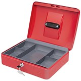 5 Star Cash Box - 12 Inch - Red