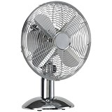 Image of 5 Star Desk Fan / Oscillating / Chrome