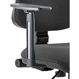 Image of Trexus Office Deluxe Height-adjustable Optional Arms - Pair