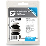 Image of 5 Star Compatible - Alternative to HP 10 Black Ink Cartridge