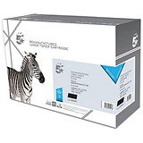 Image of 5 Star Compatible - Alternative to HP 15X Black Laser Toner Cartridge