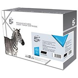 Image of 5 Star Compatible - Alternative to HP 12A Black Laser Toner Cartridge