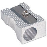 Image of 5 Star Pencil Sharpener Pocket-sized / Max Diameter 8mm / Single Hole / Pack of 5