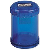 5 Star Pencil Sharpener / Plastic Canister / Maximum Pencil Diameter 8mm / 2 Hole