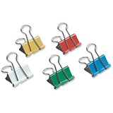 Image of 5 Star Foldback Clips - 32mm / Assorted Colours / Pack of 12