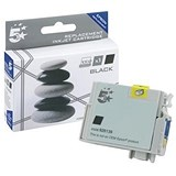 Image of 5 Star Compatible - Alternative to Epson T0711 Black Inkjet Cartridge