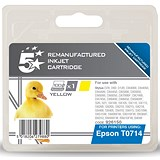 5 Star Compatible - Alternative to Epson T0714 Yellow Inkjet Cartridge