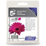 Image of 5 Star Compatible - Alternative to Brother LC1000M Magenta Inkjet Cartridge