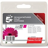 5 Star Compatible - Alternative to Canon CLI-521M Magenta Inkjet Cartridge