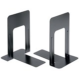 Image of 5 Star Heavy Duty Metal Bookends / 180mm / Black / Pack of 2