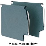 5 Star Lateral Files with Tabs & Inserts / 275mm Width / Green / Pack of 50