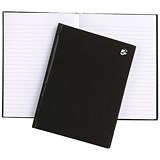 5 Star Hard Cover Casebound Notebook / A5 / Ruled / 160 Pages / Pack of 5