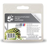 Image of 5 Star Compatible - Alternative to Lexmark No. 35 Colour Inkjet Cartridge