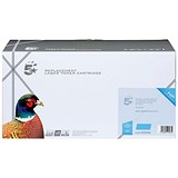 Image of 5 Star Compatible - Alternative to HP 648A Cyan Laser Toner Cartridge