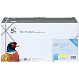Image of 5 Star Compatible - Alternative to HP 648A Yellow Laser Toner Cartridge