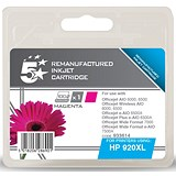 5 Star Compatible - Alternative to HP 920XL Magenta Ink Cartridge