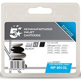 Image of 5 Star Compatible - Alternative to HP 901XL Black Ink Cartridge