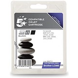 Image of 5 Star Compatible - Alternative to Brother LC985BK Black Inkjet Cartridge
