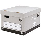 Image of 5 Star Storage Boxes / Self-Assembly / Large / Pack of 10