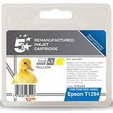 Image of 5 Star Compatible - Alternative to Epson T1294 Yellow Inkjet Cartridge