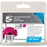 Image of 5 Star Compatible - Alternative to HP 364XL Magenta Ink Cartridge