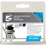Image of 5 Star Compatible - Alternative to HP 364XL Black Ink Cartridge