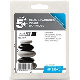 Image of 5 Star Compatible - Alternative to HP 950XL Black Ink Cartridge
