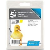 Image of 5 Star Compatible - Alternative to HP 951XL Yellow Ink Cartridge
