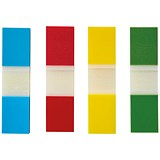 5 Star Index Flags / 4 Bright Colours / Pack of 5 x 35