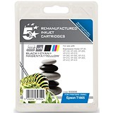 Image of 5 Star Compatible - Alternative to Epson T1806 Inkjet Cartridge Value Pack - Black, Cyan, Magenta and Yellow (4 Cartridges)
