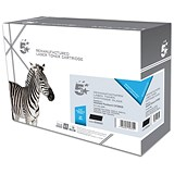 Image of 5 Star Compatible - Alternative to HP 80X Black Laser Toner Cartridge