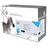 Image of 5 Star Compatible - Alternative to HP 85A Black Laser Toner Cartridges (Twin Pack)