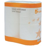 Image of 5 Star Luxury Toilet Tissue Rolls - 40 Rolls